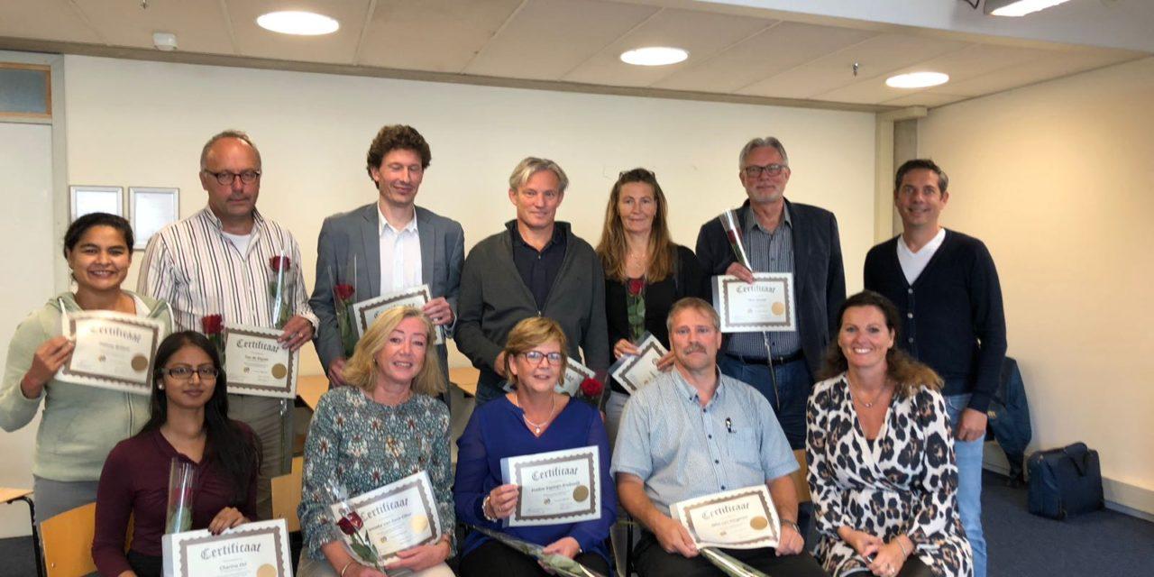 Eerste groep gecertificeerde DISC docenten van de HHS